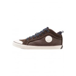 PEPE JEANS - Baskets industry sock marrons