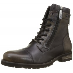 PEPE JEANS - Bottines Melting Flex noires