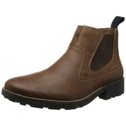 RIEKER - Bottines Chelsea marrons