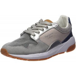 PEPE JEANS - Baskets Foster Itaka grises