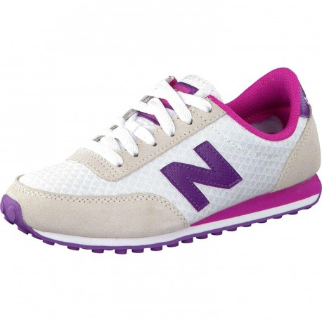 NEW BALANCE - Baskets 410 blanches et roses