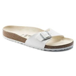 BIRKENSTOCK - Mules Madrid blanches