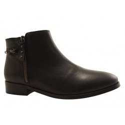 MKD - Bottines Roulers noires