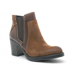 GOODSTEP - Bottines 8516 marrons