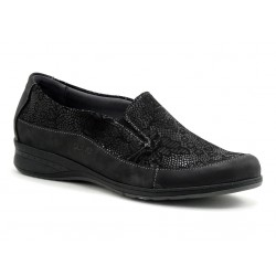 SUAVE - Mocassins Dallas noirs