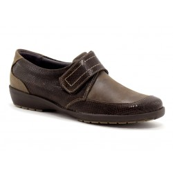 SUAVE - Mocassins London marrons