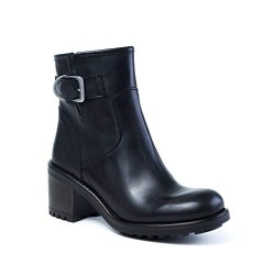 E-COW - Bottines Andreia noires