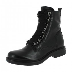 MJUS - Bottines Café Chain noires