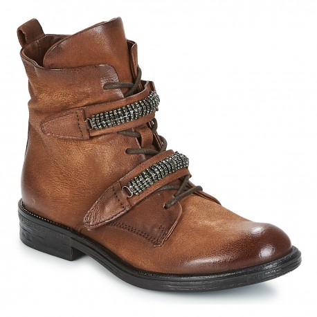 MJUS - Bottines Pal marrons