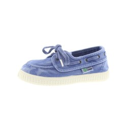 NATURAL WORLD - Mocassins 487 Bleu ciel