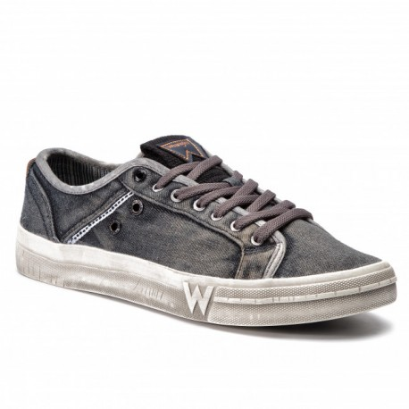 WRANGLER - Baskets Sniper Washed grises